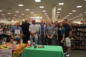 Shaun Jeffrey Barnes & Noble signing